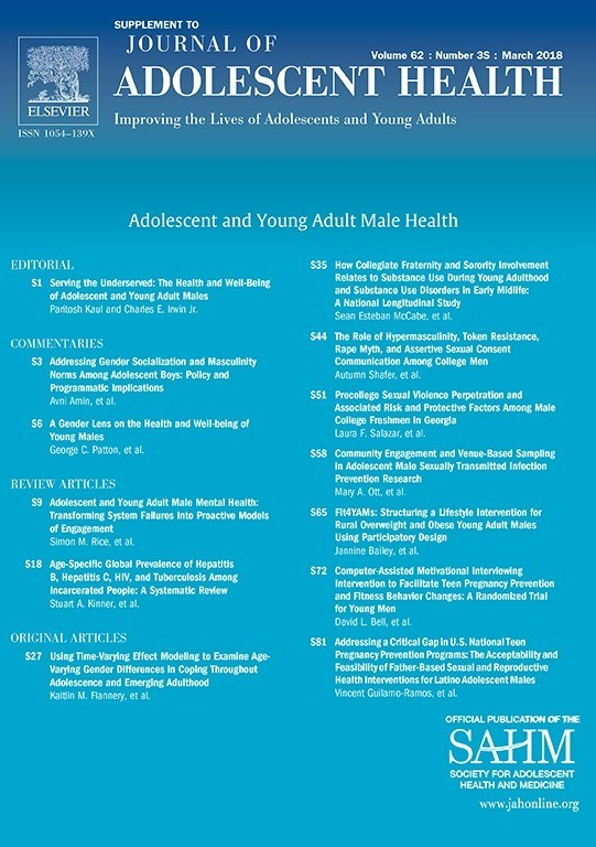 •Journal of adolescence health