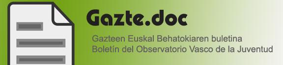 Gazte.doc- Gazteen Euskal Behatokiaren buletina