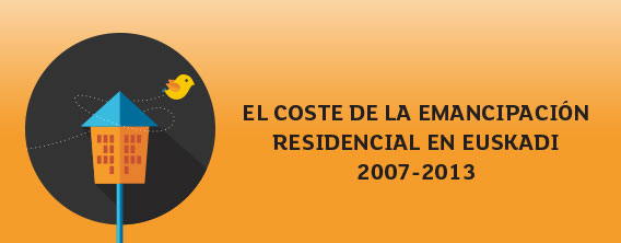 The cost of residential emancipation in the Basque Country 2007-2013